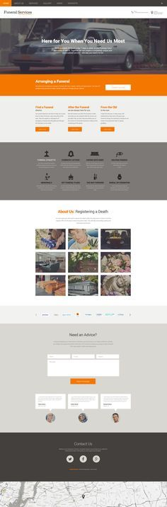 Funeral Services Responsive Drupal Template #57583