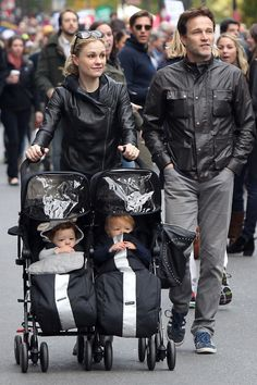 Stephen Moyer & Anna Paquin's Too Cute Twins