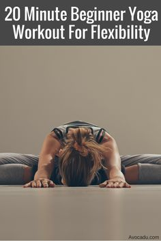 This is great yoga for beginners who aren't yet flexible enough for advanced…