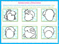 Me encanta escribir en español: Las sensaciones y las emociones.