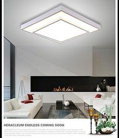 moderno e minimalista lampada da soffitto a LED salone rettangolare da pranzo con lo studio lampada camera da letto matrimoniale atmosfera creativa calda