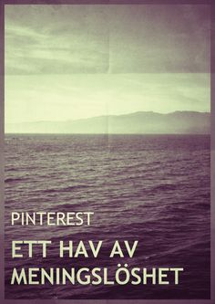 Pinterest - a sea of pointlessness