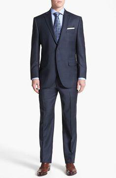Peter Millar 'Flynn' Classic Fit Plaid Suit   Nordstrom