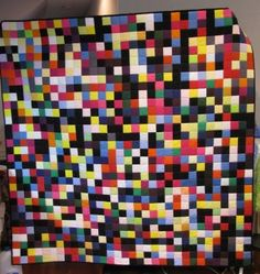 cool solid quilt