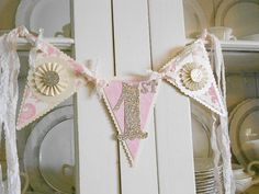 First Birthday Banner Party Decoration Your by WhateversHandmades