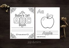 Instant 'ABC Book' Printable Coloring Sheets Alphabet Book with Pictures DIY ABC Book Home School Learning Resources Alphabet Coloring Book Alphabet Coloring, Coloring Books, Coloring Pages, Vintage Chalkboard, Chalkboard Decor, Printable Coloring Sheets, Alphabet Book, Print Pictures, Ideas