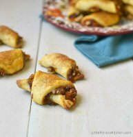 Favorite Christmas Cookies Recipes (Pumpkin Candied Pecan Rugelach) | snappygourmet.com