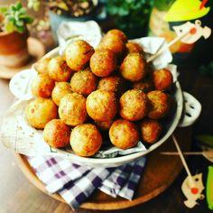 これはほんとにおすすめ!カリッともちもちのり塩山芋ボール♪   しゃなママオフィシャルブログ「しゃなママとだんご3兄弟の甘いもの日記」Powered by Ameba