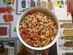 Kritharaki Salat
