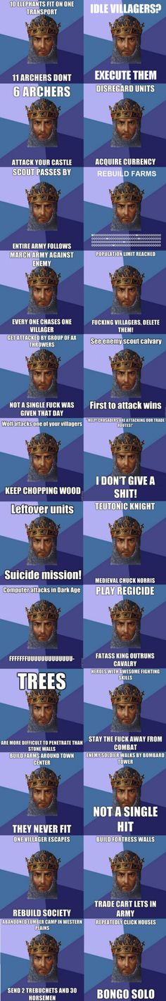 Age Of Empires Logic – Meme | WeKnowMemes