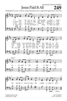 Baptist Hymnal 2008 249. I hear the Savior say - Hymnary.org