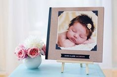 Album Templates: Heirloom Baby Book