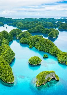 70 islands in Palau.