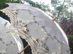 lace sun umbrella