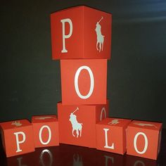Polo Theme Cube by ccbyshon on Etsy, $8.00