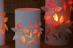 DIY: Dimensional Paper Lanterns 2 | A Piece Of Rainbow
