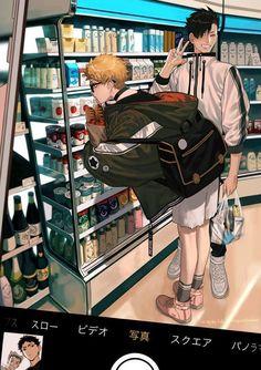 2 from the story ༻𝑯𝒂𝒊𝒌𝒚𝒖𝒖 𝑩𝒐𝒚𝒇𝒓𝒊𝒆𝒏𝒅 𝑺𝒄𝒆𝒏𝒂𝒓𝒊𝒐𝒔༺ by Yi-Senpai with reads. Manga Haikyuu, Haikyuu Tsukishima, Kuroo Tetsurou, Haikyuu Funny, Haikyuu Fanart, Kagehina, Me Anime, Fanarts Anime, Cute Anime Guys