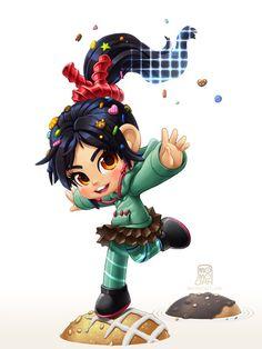 Vanellope von schweetz Disney Pixar, Disney Wiki, Disney Marvel, Disney Fan Art, Disney And Dreamworks, Disney Magic, Disney Movies, Cute Disney Characters, Cartoon Characters