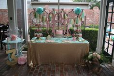 Princess and the Frog Birthday Party Ideas | Photo 7 of 59 | Catch My Party