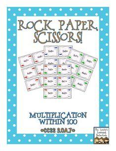 Rock, Paper, Scissors: Multiplication