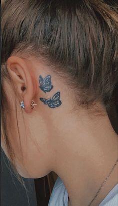 Dainty Tattoos, Cute Small Tattoos, Unique Tattoos, Cute Tattoos, Beautiful Tattoos, Small Tattoos On Neck, Small Disney Tattoos, Simple Neck Tattoos, Unique Small Tattoo