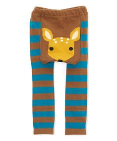 Doodle Pants Woodland Fawn Leggings - Infant | zulily