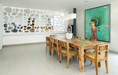חוף בפרו וים של כסף: האם זה הבית שהיתם רוצים?   בניין ודיור Dining Area, Dining Rooms, Dining Table, Interior Design, Furniture, Home Decor, Art, Nest Design, Art Background