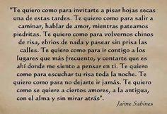 Jaime Sabines que falleció un día como hoy de 1999. Fue un poeta y político mexicano, considerado como uno de los grandes poetas mexicanos del siglo XX.