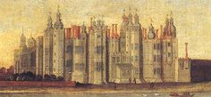 Richmond Palace, an early Tudor Palace, much beloved by Henry VII. and Henry… Uk History, Tudor History, British History, Richmond Palace, Rey Enrique Viii, Castle Pictures, Family Pictures, Elisabeth I, Tudor Monarchs