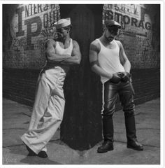 The Classic Roles the Classic Pose: gay culture in America