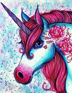 unicorn fantasy color