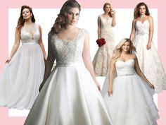 20 Gorgeous Plus-Size Wedding Dresses   TheKnot.com