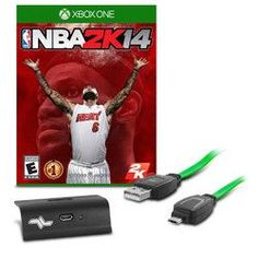 NBA 2K14 Play N Charge Kit Game Bundle for Xbox One