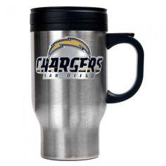 16 oz. Stainless Steel Thermal Mug W/ Emblem