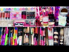 ♡ My Makeup Collection Best Makeup Products, Pure Products, Beauty Products, Great Nails, Manicure And Pedicure, Skin Treatments, Makeup Collection, Toe Nails, Eyeshadow Palette