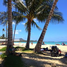 Ala Moana Beach Hawai'i