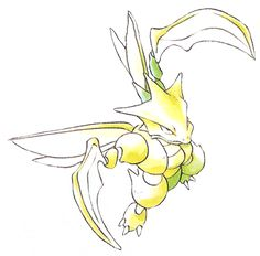 Pokemon Red and Blue Scyther