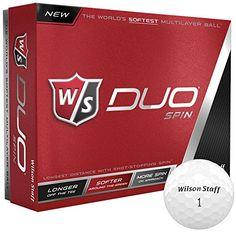 Wilson Duo Spin Golf Ball 12-Ball Pack - http://golfforchampions.com/wilson-duo-spin-golf-ball-12-ball-pack/