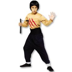 Kids Kung Fu Master Costume now available at http://www.karatemart.com