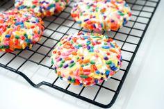 Confetti Sugar Cookies | neurotic baker