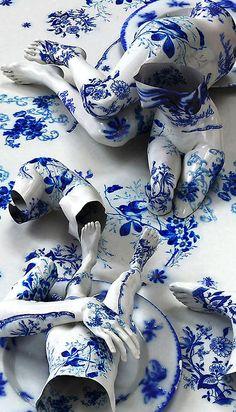 Designersgotoheaven.com - Porcelain Tattoos by Kim Joon.