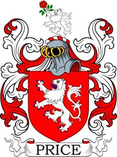Price Family Crest and Coat of Arms