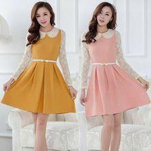 Polyester Casual Solid Regular Size Tops & Blouses for Women Cute Short Dresses, Cheap Dresses, Elegant Dresses, Beautiful Dresses, Preppy Dresses, Club Dresses, Fashion Dresses, Estilo Cool, Dress Brokat