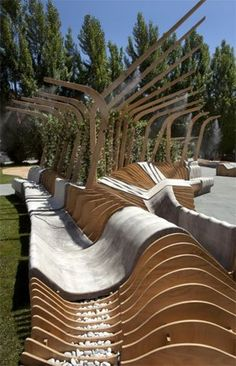 The Humble Public Bench Becomes Comfortable, Inclusive, and Healthy maxxi
