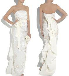 Lanvin strapless silk-gazar beaded gown, £8,540 - Best Wedding Dresses - Fashion - Marie Claire