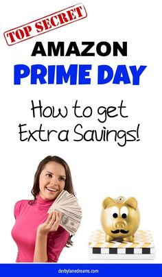 Amazon Prime Day 2019 is July 15 and 16, 2019. Prepare now for this 2-day parade of epic deals! It's the Biggest Shopping Day of the year for Prime Members! These Amazon Prime Day 2019 Deals and Steals Will Sell Out Quickly - Get the Sneak Peek and More Ways to Save Money. Find out what the best deals will be for Amazon Prime Day 2019! Bigger than Black Friday! #Amazon #AmazonPrimeDay #SaveMoney #cash #coupons #deals #frugalliving #AmazonPrimeDay2019 #PrimeDay #PrimeDayDeals Make Money Blogging, Make Money From Home, Make Money Online, Saving Money, Prime Day Deals, Amazon Prime Day, Living On A Budget, Frugal Living Tips, Ways To Save Money