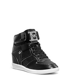Nikko Leather and Suede High-Top by Michael Kors