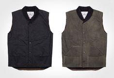 Knickerbocker Waxed Canvas Vest