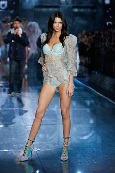 Kendall Jenner for Victoria's Secret Fashion Show 2015.
