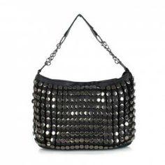 $14.00 Trendy Vintage PU Leather Women's Shoulder Bag With Rivets Design